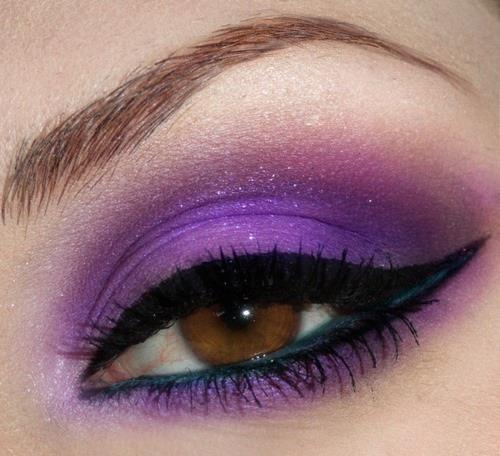 Purple Eye Shadow!