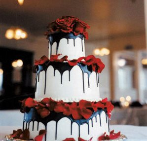 Wedding themes and ideas beauty spot mia red wedding cakes ideas03 white wedding ideas junglespirit Images