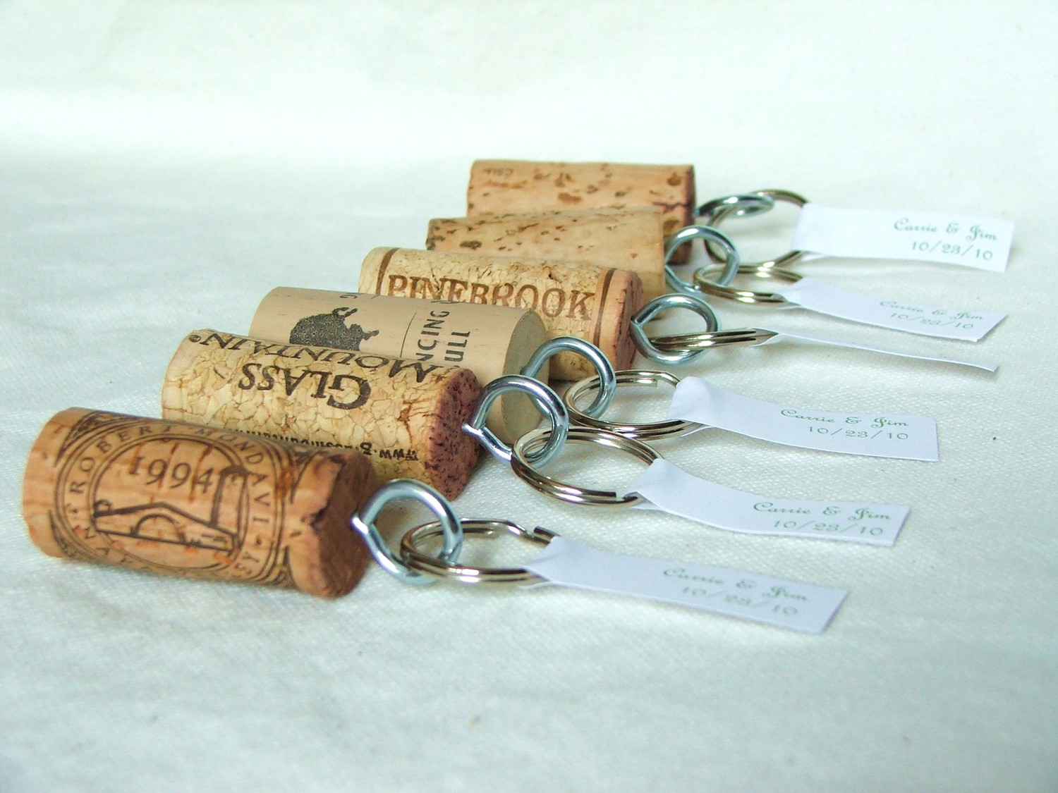 ... Wine Cork Wedding Favor
